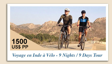 Voyage en Inde à Vélo - 9 Nights 9 Days - Rajasthan Cycling Tour
