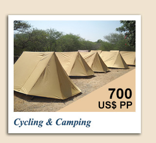 Cycling Tours : Cycling and Camping