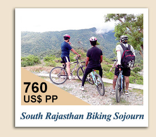 Cycling Tours : South Rajasthan Biking Sojourn