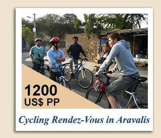 Cycling Tours : Cycling Rendezvous in Aravalis